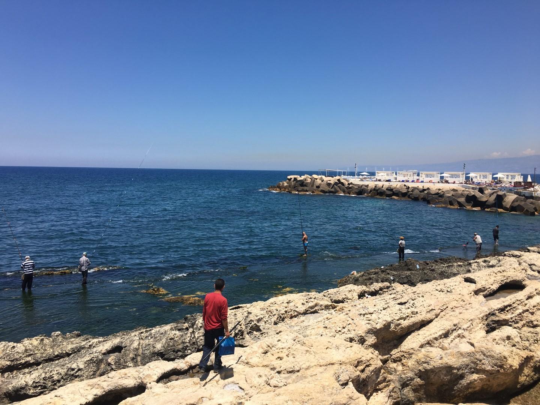 Beirut coast