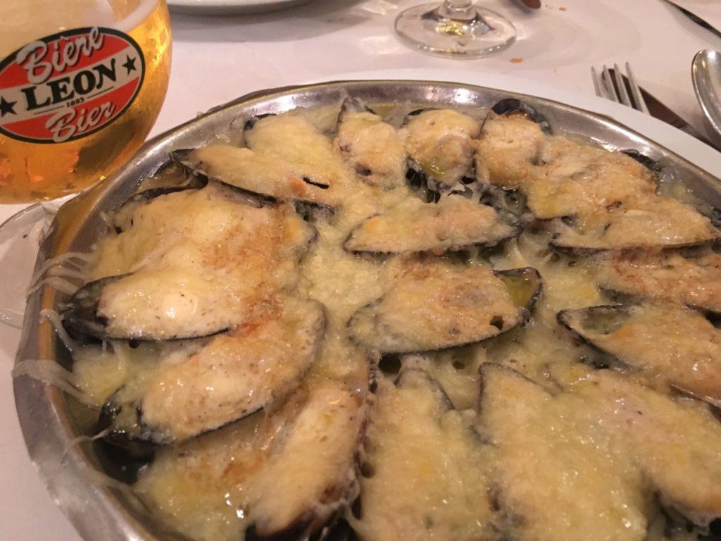 Brussels mussles