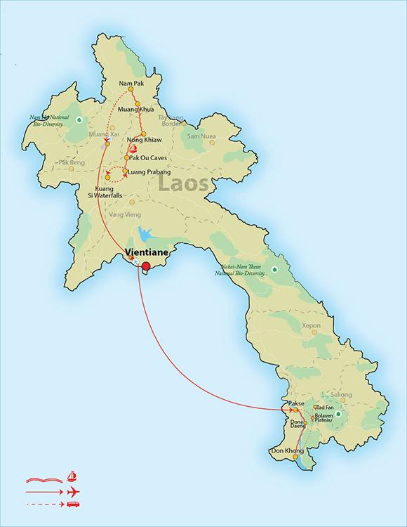 Laos Signature Tour