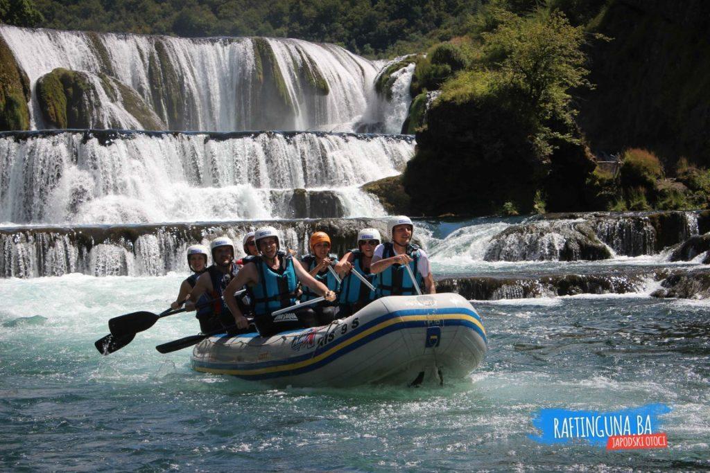 Rafting Una river