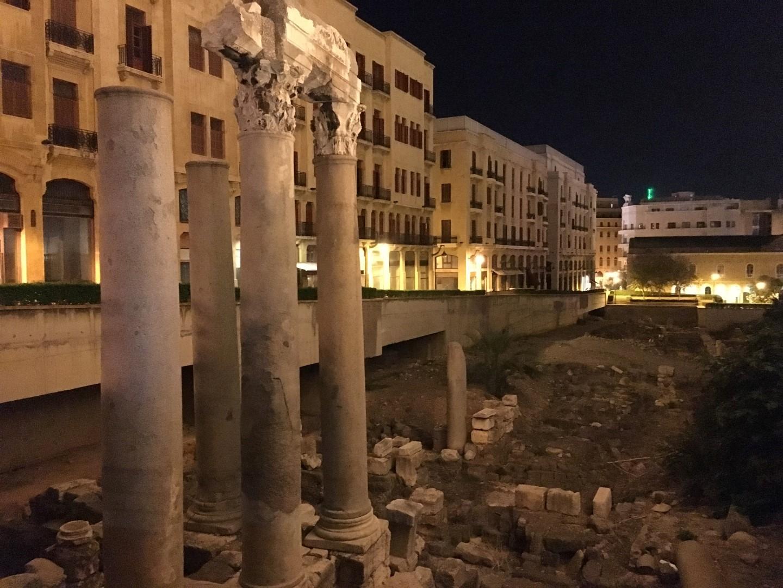 Beirut ruins