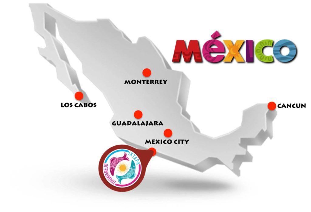 Ixtapa_Zihuatanejo_map_Mexico