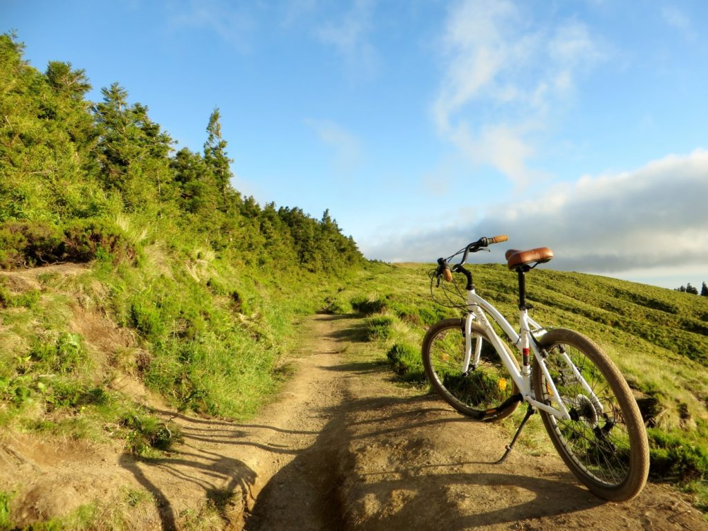 Biking at Sao Miguel Azores