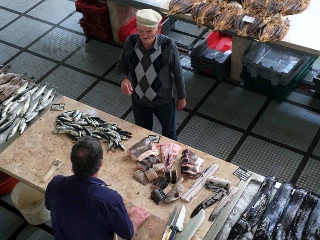 Mercado dos Lavradores in Funchal Madeira