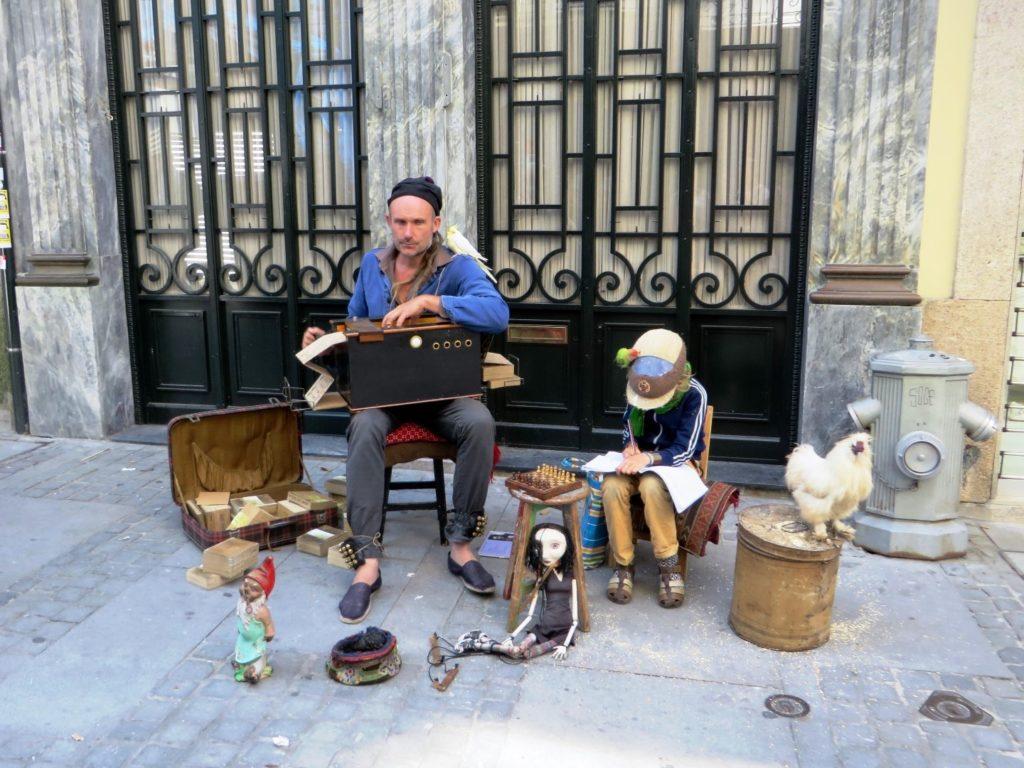 Musician in Porto