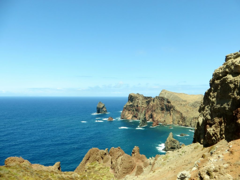 Sao Lourenco viewpoint in Madeira