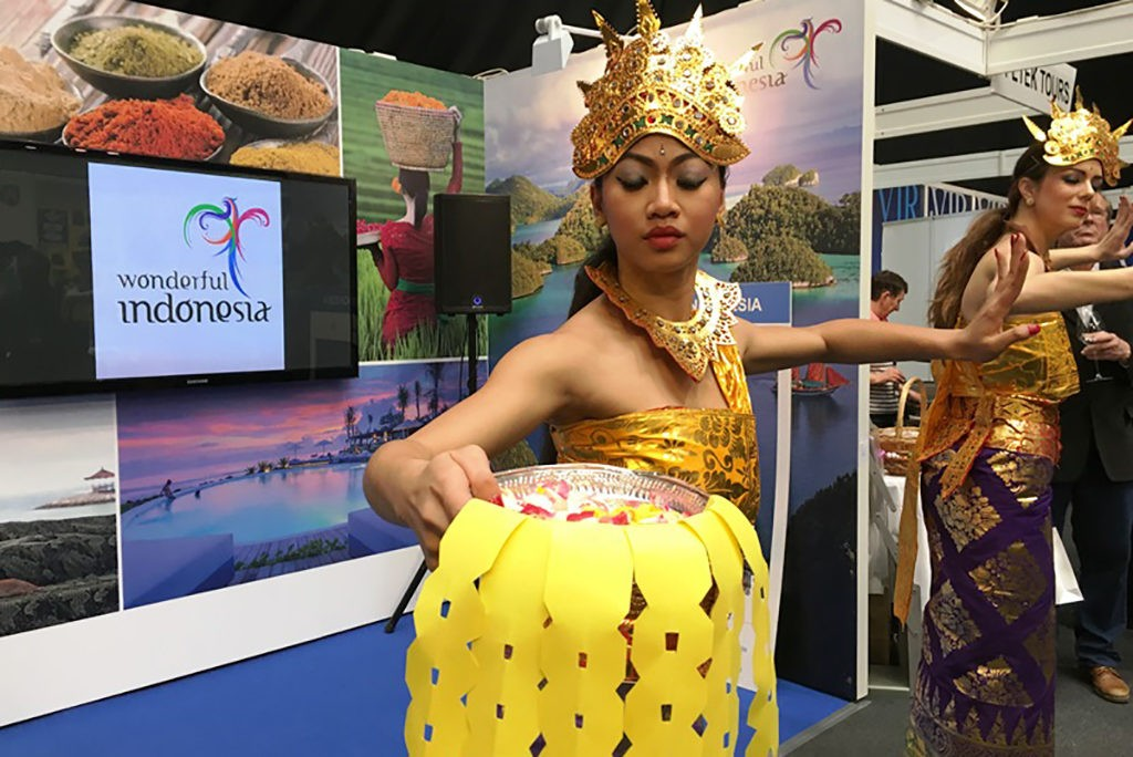 Wonderful Indonesia at Place2go in Zagreb 2016