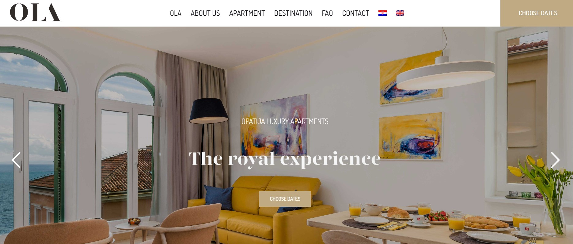 Luxury vacation rental branding