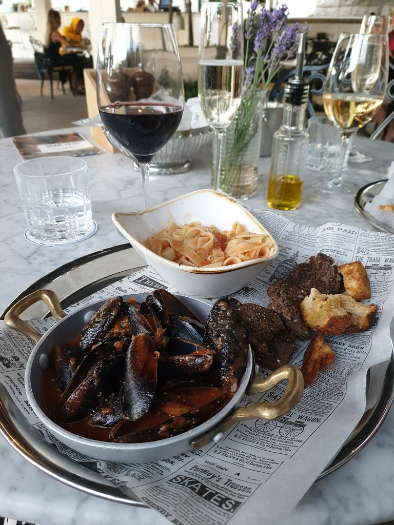 Dinner in Brown Beach House, Trogir, Croatia