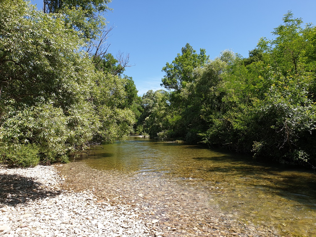 River Zrmanja in Croatia