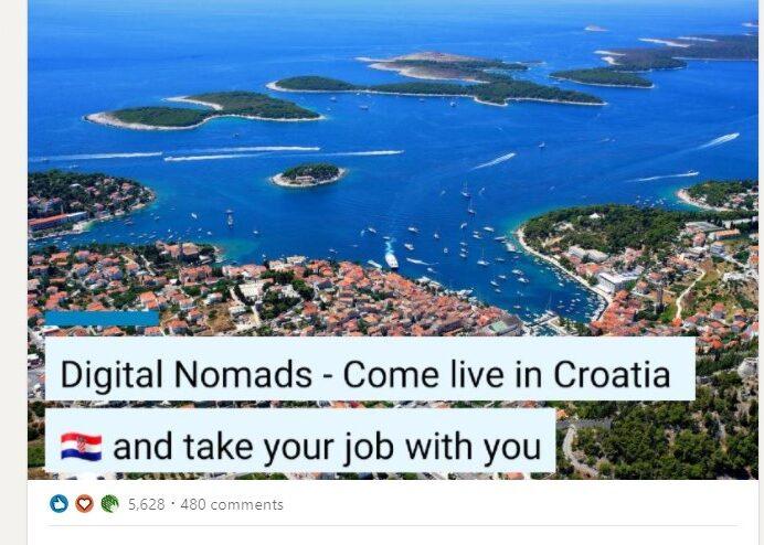 digital nomads in croatia